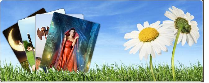 Waarzegster tarotkaarten